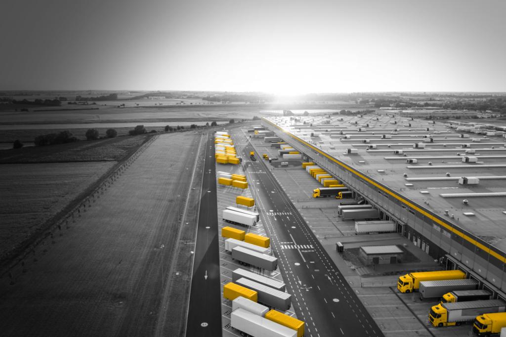Equipos eficientes de manipulación de cargas pueden contribuir a reducir las emisiones de CO2,